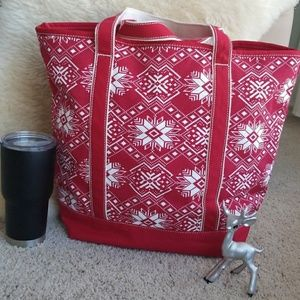 Lands End Nordic Canvas Extra-Large Tote