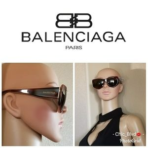 🆕🔥1 DAY SALE Balenciaga Brown Sunglasses