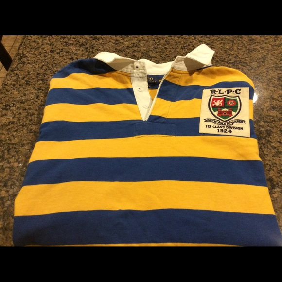 bab983ed8cd Polo. RL Men s striped Rugby RLPC  15 Patch 2XL. M 5a1da6bf78b31c102e11cd39