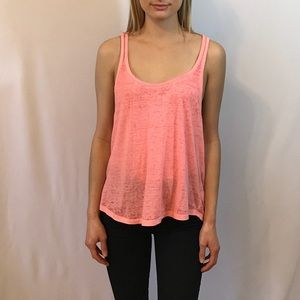 Salmon Burnout Tunic