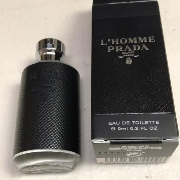 bab5275447d6 Bags   Prada Lhomme Parfum 9 Ml In Box Men   Poshmark