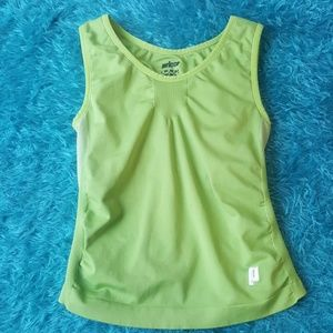 Prince Lime Green Work Out Tank S