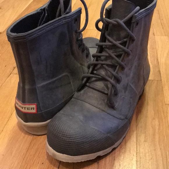91f83ddea3b Hunter Boots - Original Rubber Lace-Up Boots