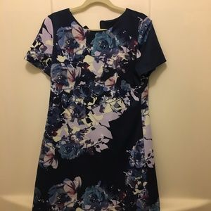 Navy blue dress MUSE size 14