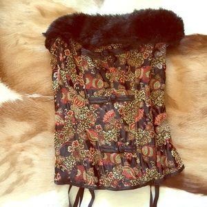 Frederick's of Hollywood corset /garter