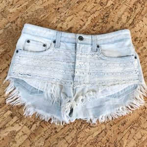 Carmar denim shorts from LF