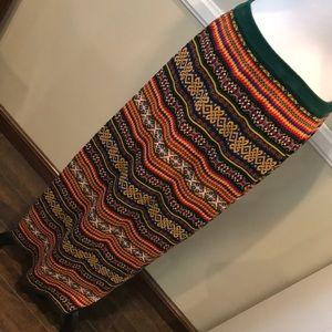 GAP Vintage sweater maxi skirt large
