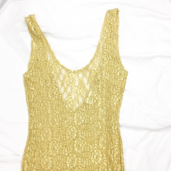 Victoria's Secret Other - Vintage VS Gold Tag Lace Nightgown