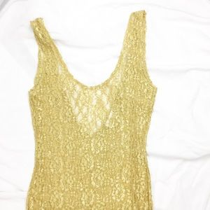 Vintage VS Gold Tag Lace Nightgown