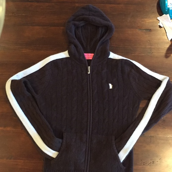 19f1df453669 Juicy Couture Sweaters - Juicy Couture cashmere hoodie full zip sweater