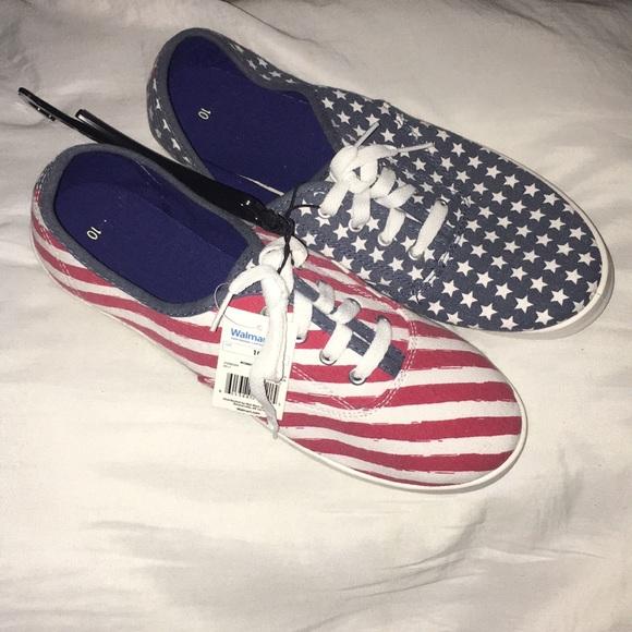 2b308912d83 Women s Patriotic Sneakers