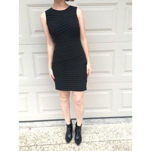 [holiday sale] [calvin klein] black pleated dress