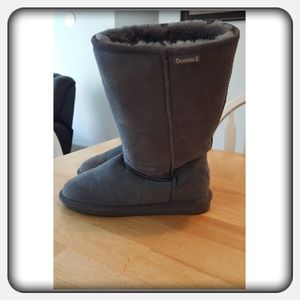 EUC Woman's Tall Grey Boots Sz 10M