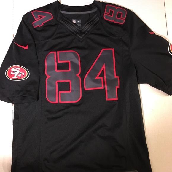 watch 50554 534ee Randy moss 49ers jersey