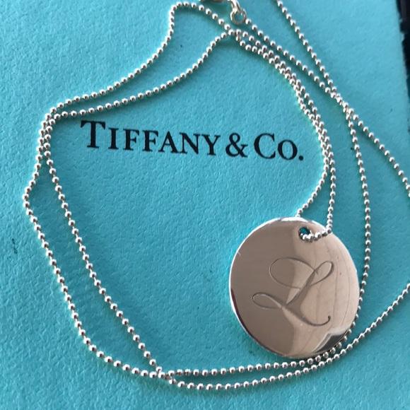 Tiffany co jewelry tiffany notes alphabet disc charm and bead tiffany notes alphabet disc charm and bead chain aloadofball Images