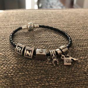 Pandora Bracelet With Charms!!!! 👠🎓👩⚕️