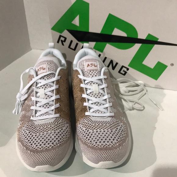 654e8942040f APL Shoes - APL Techloom Pro M White Rose Gold Melange