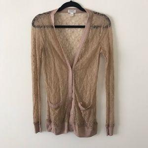 Rodarte for Target lace cardigan