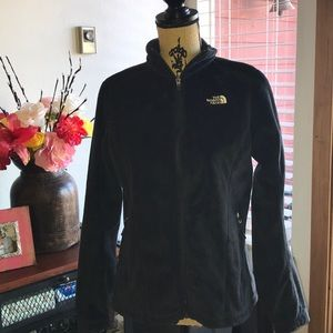 Black The North Face Fleece Jacket