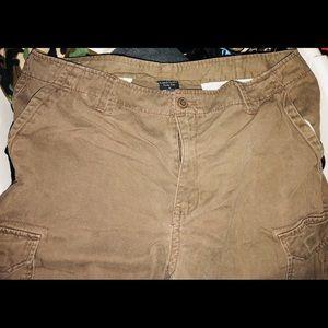 Used Mens Faded Glory Cargo Shorts Size 36