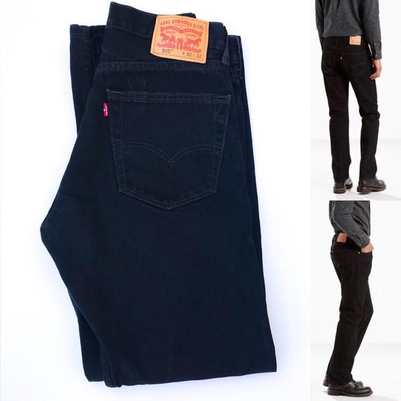 2d9453b09ba Levi's Jeans   505 Levi 3232 Black Denim Like New   Poshmark