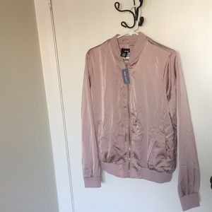 Baby pink bomber jacket (brand new)