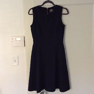 Taylor Navy fit & flare dress