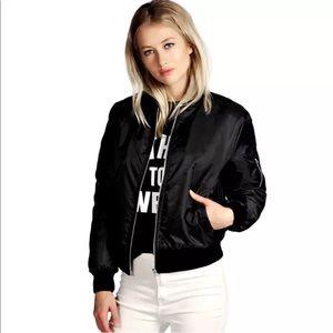 Jackets & Blazers - New Item✨ Black Bomber Jacket 😍✨