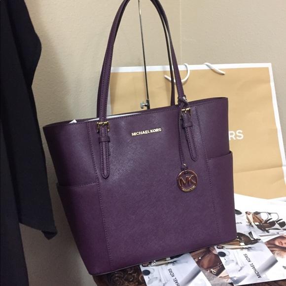 e684f0330f31 Michael Kors Bags   Brand New With Tags Damson Tote   Poshmark