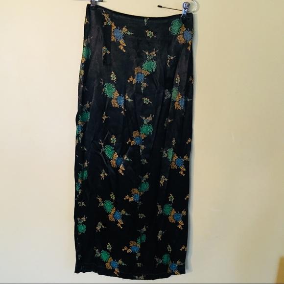 b'real Dresses & Skirts - Vintage Kimono-Inspired Skirt