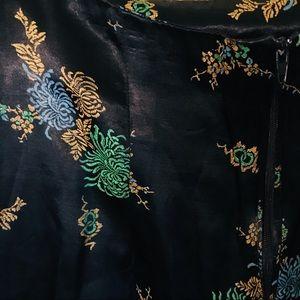 b'real Skirts - Vintage Kimono-Inspired Skirt