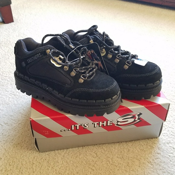 Skechers Platform Sneakers Vintage 1990s Jammers men's size