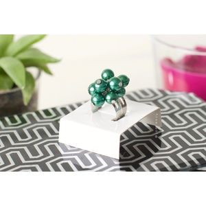 "NIB ""Earth"" Elemental Bauble Adjustable Ring"