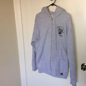 Grey primitive sweater