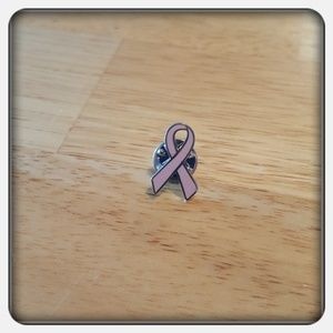 Jewelry - Woman's Pink Breast Cancer Awareness Ribbon Pin