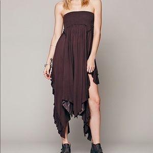 Free people fly away convertible skirt midi dress