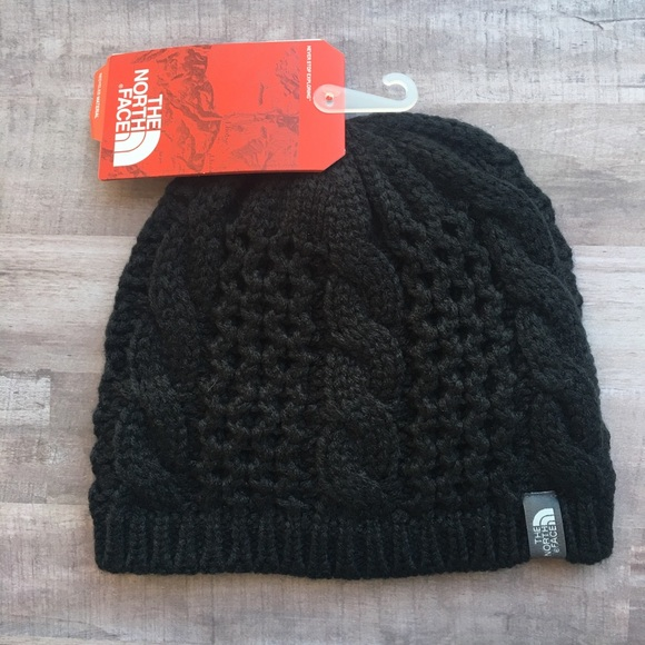 North Face cable knit Beanie fc03ee90bc6d