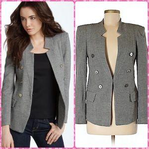 🎈SALE🎈Nordstrom Grey Wool Stretch Fitted Blazer