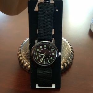 Avon Military Style Canvas Strap Watch