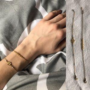 Jewelry - DELICATE GOLD BRACELETS