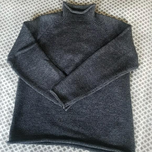 Vintage Jcrew Mens Rollneck Sweater L Tall