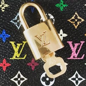 Set of 2 Louis Vuitton Locks & Keys