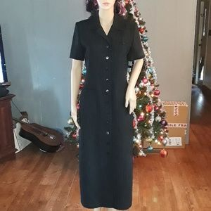 Nwt Amanda Smith pinstripe dress