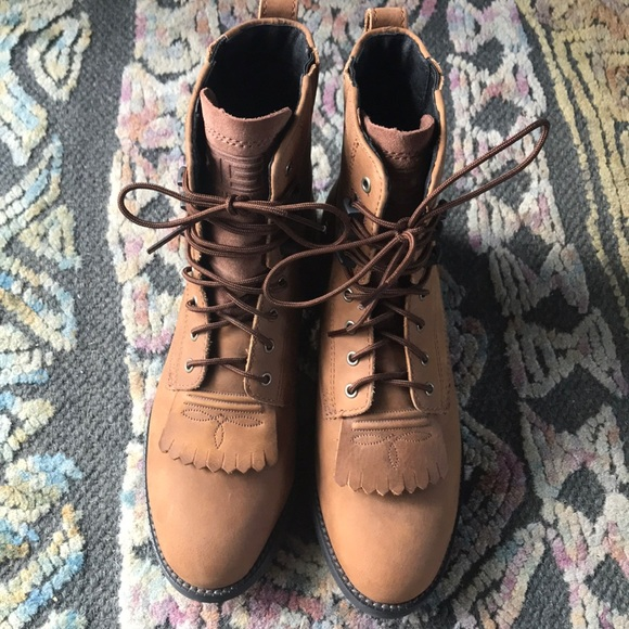 ariat womens lace up boots