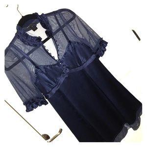 Marc Jacobs classic navy blue dress