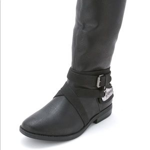 NEW Rampage Womens Isadora Black Boots
