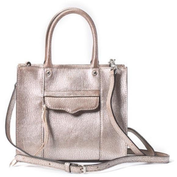 Rebecca Minkoff Handbags - Rebecca Minkoff Metallic mini MAB