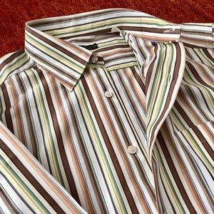 Ermenegildo Zegna Multi-Colored Dress Shirt