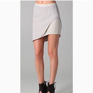 Helmut Lang 'Tux Skirt'