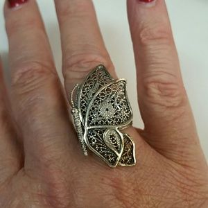 Jewelry - .925 butterfly ring